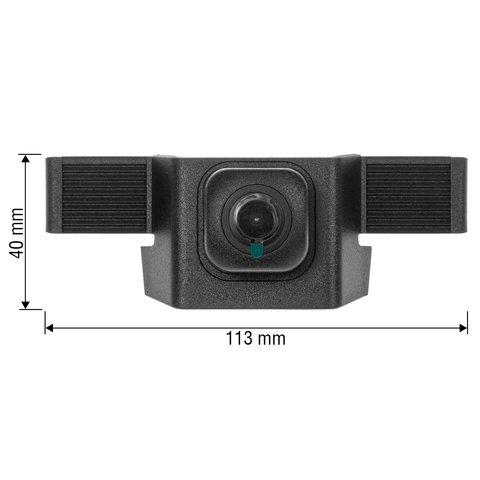Камера переднего вида для Toyota Highlander 2018 г.в. Превью 1