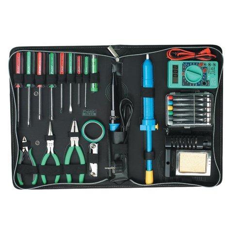 Набір інструментів Pro'sKit 1PK-616B для електромонтажу - Перегляд 2