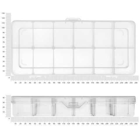 Кассетница для компонентов Pro'sKit 203-132F - Просмотр 2