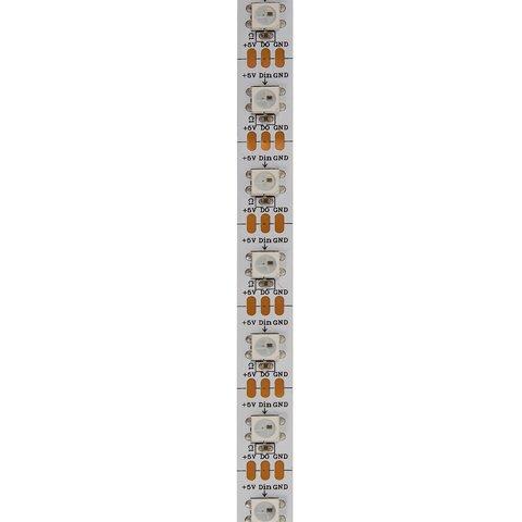 Світлодіодна стрічка SMD5050, WS2812B (біла, з управлінням, IP20, 5 В, 60 діодів/м, 5 м) Прев'ю 1