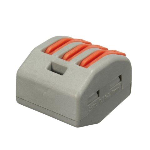 Прямий 3-контактний конектор для з'єднання проводів 250 В 30 А Прев'ю 1
