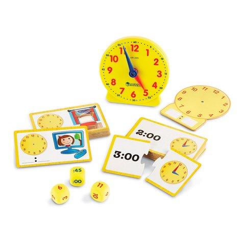Обучающий игровой набор Learning Resources Изучаем время Превью 1