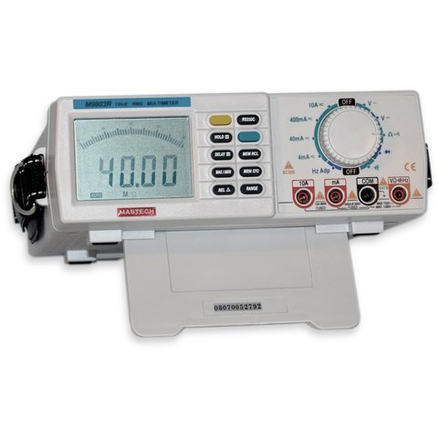 MASTECH M9803R Professional table stand digital multimeter Preview 5